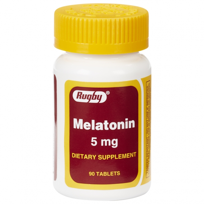 MELATONIN 5MG TAB [RUGBY]