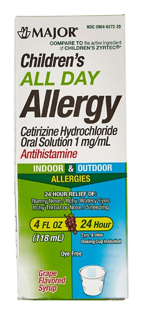 ALL DAY ALLERGY CHILD SYRUP 7/19[M