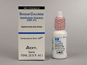SODIUM CHLORIDE 5% OPTHALMIC SOLUT