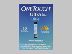 ONETOUCH ULTRA TEST STRIP  #024450