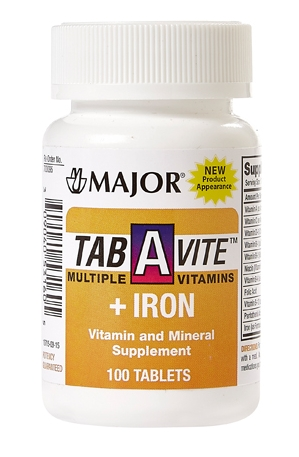 tab a vite multiple vitamins iron the harvard drug group