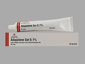 ADAPALENE 0.1% GEL [GLENMARK] - The Harvard Drug Group