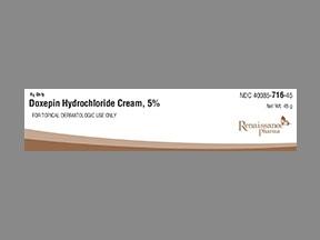 Doxepin Hydrochloride Cream 5